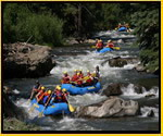 Rafting on Clear Creek in Colorado